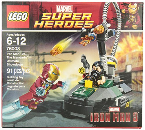 Lego Super Heroes Iron Man Vs. The Mandarin Ultimate Showdown (76008) front-905677