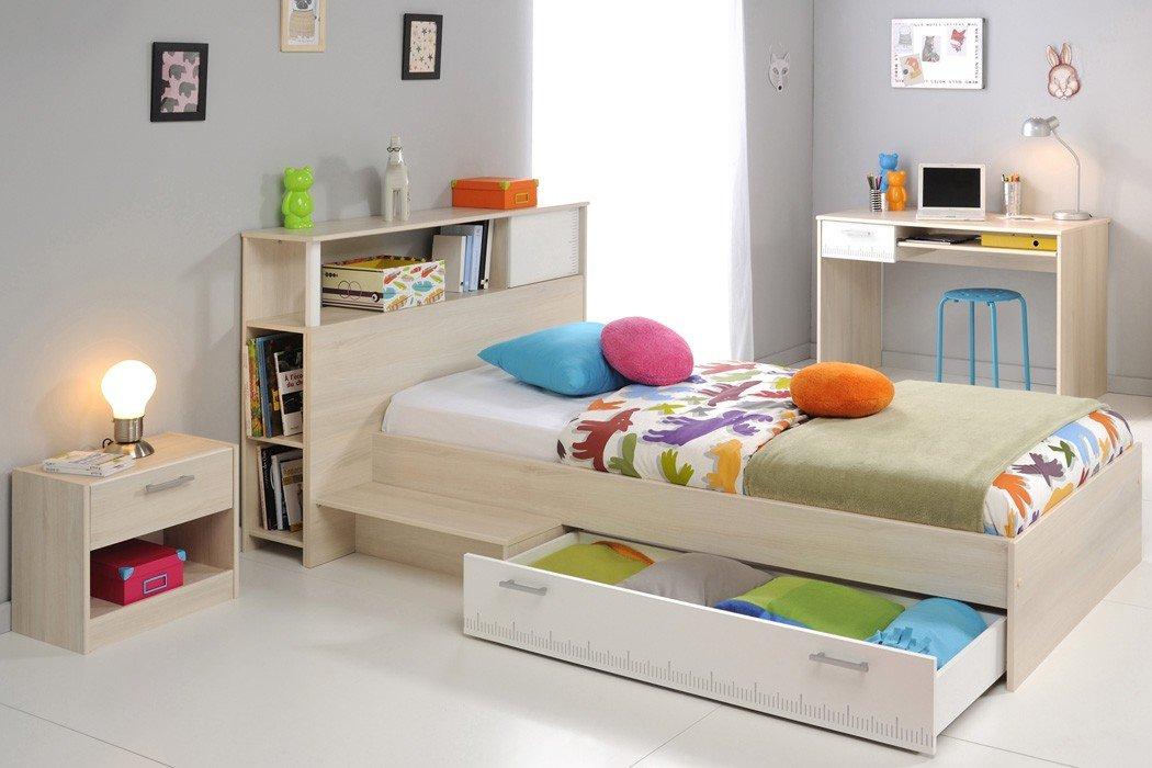 Jugendzimmer Chiron 11 Akazie Nb Jugendbett 90×200 Kinderbett Bett Regal Nachttisch Nako Schreibtisch Kinderzimmer online bestellen