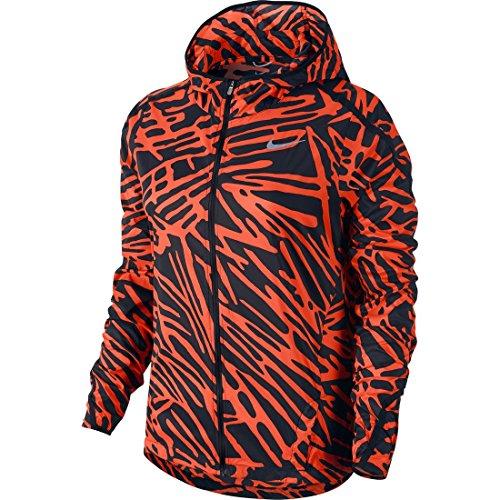 Nike Womens Dri Fit Long Sleeved Running Jacket Magenta