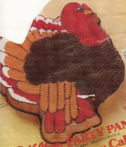 Wilton Turkey Thanksgiving Holiday Cake Pan (502-2634, 1979) Retired