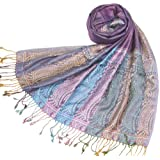 Women's Paisley Shawl Wrap/Stole - Be chic in this gorgeous shawl