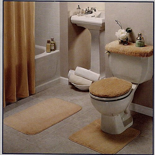 beige bathroom rug set 4 pc hardware plumbing plumbing
