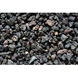 """Fire Pit Essentials 10-pound 3/8"""" Small Black Lava Rock for Fireplace and Fire Pit"""