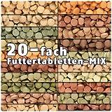 AQUALITY PREMIUM Futtertabletten-MIX '20 Sorten' 250 ml