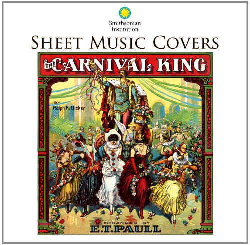 Sheet Music Covers: Smithsonian Institution 2012 Wall Calendar