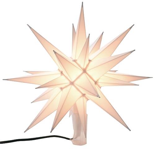 Illuminated Star Christmas Tree Topper