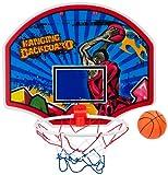 Set de canasta y pelota de baloncesto