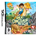 Go Diego Go! Great Dinosaur Rescue (Nintendo DS)