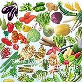 Deal! Good News!100 Sorts 190+ Seeds.Pumpkin,Peach melon,Bottle Gourd,Beans,Pepper,Gourd...Vegetable seed
