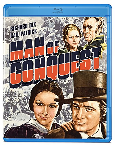 Man of Conquest [Blu-ray]