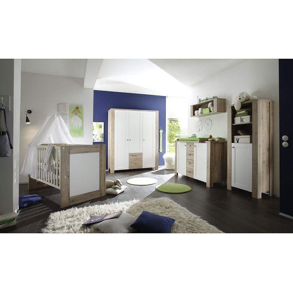Babyzimmerset Lupo Set 3 sanremo hell / weiss matt jetzt bestellen