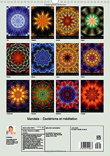 Mandala - Esoterisme et Meditation: Les Mandalas Sont des Images d'energie Qui Donnent de la Force, de la Paix et de la Detente Pour le Corps et l'ame. (Calvendo Sante)