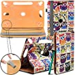 "New TAN Design Universal Leather 360 degree Rotating Stand Case Cover For Kindle Fire HD 7-inch Tablet PC - Multi Coloured Owls ( Designer Folio Android Colourful Luxury Protective 7"" Tab Flip Skin ) by Gadget Giant�"