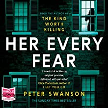Her Every Fear Audiobook by Peter Swanson Narrated by Juliette Burton