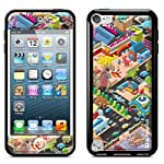 id America Cushi Plus Apple iPod touch5用 【3DスキンシールとバンパーSET 保護カバーケース】 Suburb CSICF501-SUBURB-A