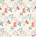 American Crafts Dear Lizzy Documentary Me & You Scrapbook Paper