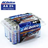 ACDelco AA Batteries, Alkaline Battery, 24 Count (Tamaño: 24-Count)