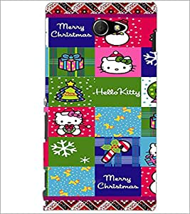 PrintDhaba Cartoon D-4437 Back Case Cover for SONY XPERIA M2 (Multi-Coloured)