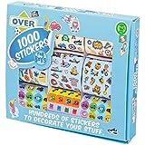Tobar Stickers for Boys Craft (1000-Piece)