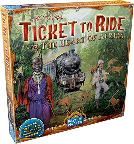 Ticket to Ride Map Collection Board Game: The Heart of Africa, Volume #3 (Ticket To Ride Uk compare prices)