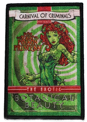 Batman P-DC-0077 DC Comics Poison Ivy Patch