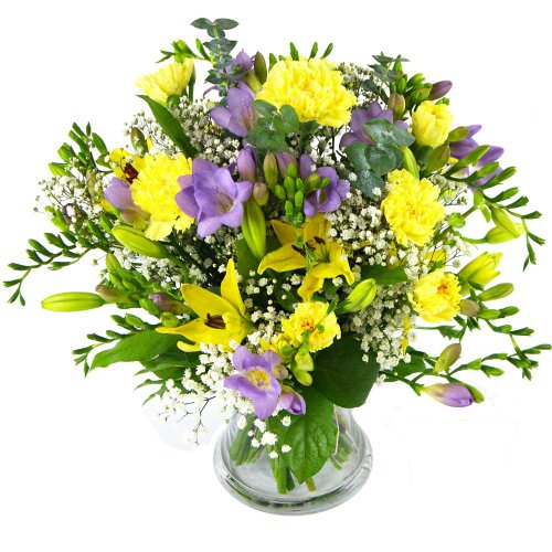 Selfridges Selection Purple Flowers Bouquet