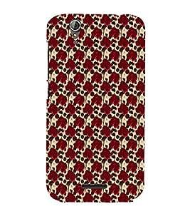 EPICCASE red roses Mobile Back Case Cover For Acer Liquid Z630 (Designer Case)