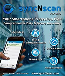 syncNscan Standard Backup and Spam Guard with Device and Data Insurance (Rs. 10000 to < 15000)
