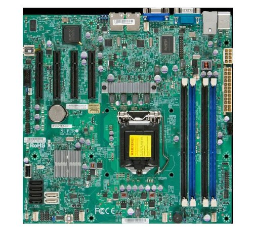 Supermicro MBD-X9SCM-IIF-O Retail Motherboard (Intel C204 PCH Chipset, SATA, LAN, IPMI, Single Socket)