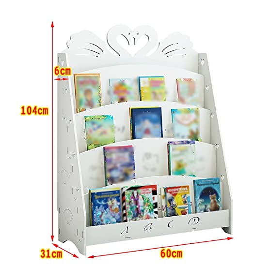 TH Scaffale per libri Scaffale per libri Scaffale per scaffali per studenti ( Colore : Style-2 , dimensioni : 60cm )