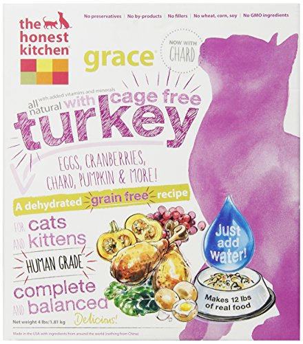 The Honest Kitchen Grace: Grain-free Turkey Cat Food