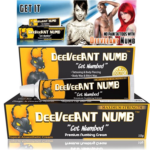 Read About Numbing Cream Anesthetic - Strong Fast Acting DEEVEEANT NUMB® - 1x10g - Lidocaine 5% Top...