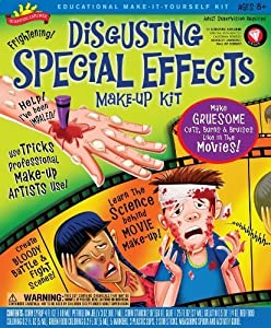 POOF-Slinky 0S6802010 Scientific Explorer Disgusting Special Effects Makeup Kit, 7-Activities by Scientific Explorer TOY (English Manual)