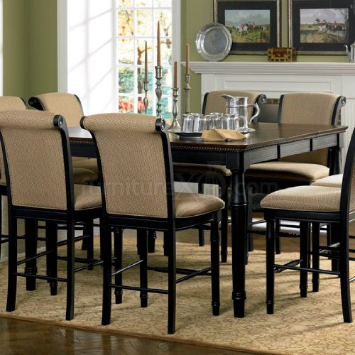 Buy Low Price Coaster Furniture Cabrillo Counter Height Dining Table in Dark Cappuccino by Coaster (B0051BFEFY)