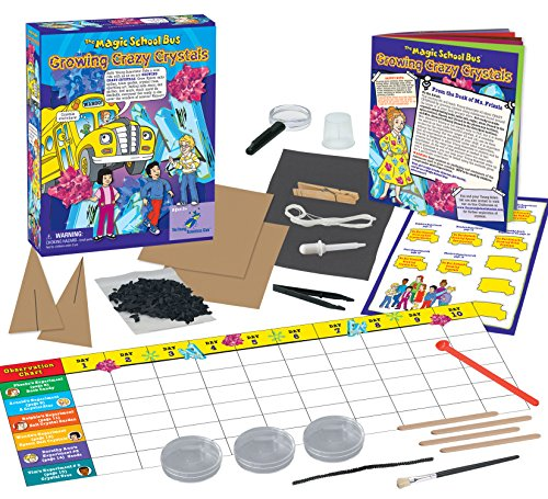 The Magic School Bus Growing Crazy Crystals Science Kit (Crystal Garden Kit compare prices)