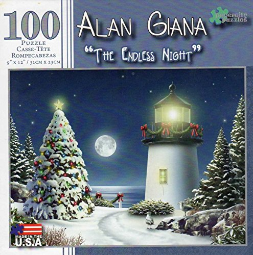 The Endless Night 100 Piece Puzzle - Alan Giana - 1
