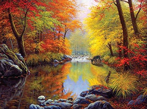 Autumn Sanctuary 1000 Piece Jigsaw Puzzle by Sunsout Inc.