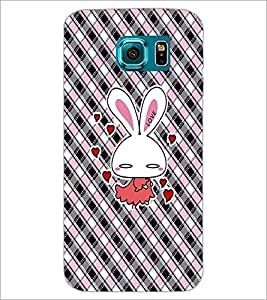 PrintDhaba Cartoon D-4521 Back Case Cover for SAMSUNG GALAXY S6 (Multi-Coloured)