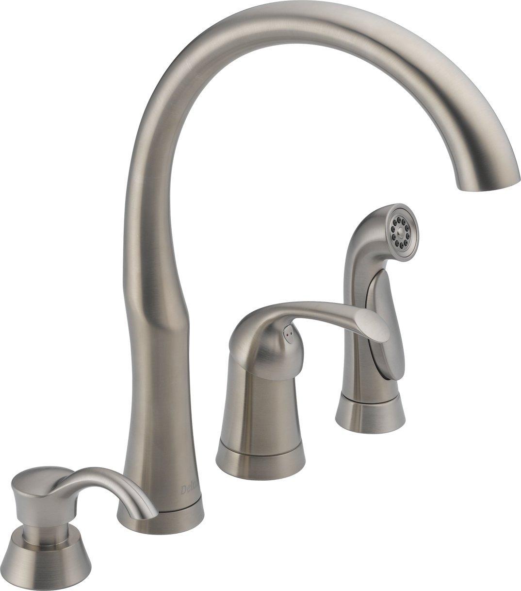 Delta Single Handle Kitchen Faucets Images