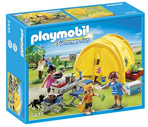 PLAYMOBIL 5435 Family Camping Trip Playset