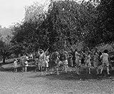 1926 photo Christ Child Society, Rockville Vintage Black & White Photograph