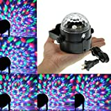 TSSS XL53 Portable Crystal Rainbow Effect Mirror Ball Stage Light Party Dance Show Lights