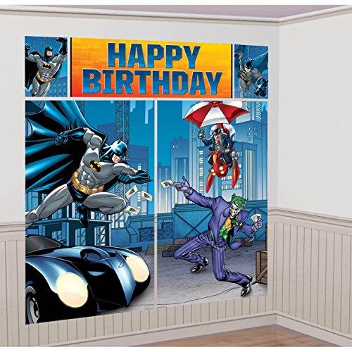 American Greetings Batman Wall Decorations (Batman Supplies compare prices)