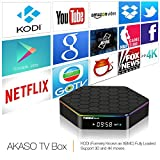 AKASO T95Z PLUS TV BOX 4K KODI Pre-installed Android 6.0, Amlogic S912 Octa Core 2GB DDR3 16GB EMMC Flash, 2.4G/5G Dual WIFI Band 1000M LAN Ethernet Bluetooth 4.0 3D Streamming Media Player