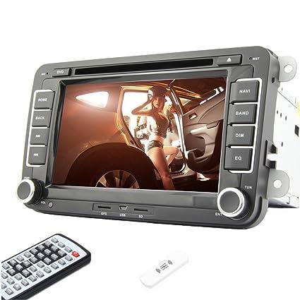 Coche Pupug capacitiva de 7 pulgadas LCD Multi Touch Android 4.2 del coche DVD VCD par VW Volkswagen GPS Navi PC universelle stšŠršŠo Radio WiFi 3G Double DIN 2 Subwoofer PC Logo USB BT Vehšªculo / SD