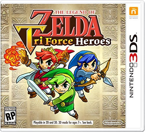 Nintendo The Legend of Zelda: TriForce Heroes - 3DS - Nintendo 3DS