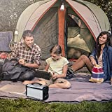 Suaoki-Portable-Generator-Gas-free-Quietly-Solar-or-DC-12V-Operated-with-Power-Inverter-Outputs-AC-100V110V50HzMax-220Wh-USB-1A-DC-12V5A-Built-in-Battery-Capacity-220Wh20Ah
