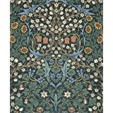 Blackthorn wallpaper, by William Morris (V&A Custom Print)
