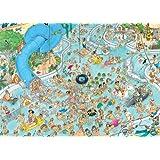 Jan Van Haasteren Whacky Water World Jigsaw Puzzle (1500 Pieces)