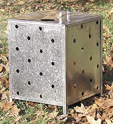 Flatpack Incinerator With Lid by Parasene